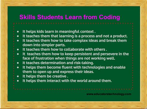 coding robotics and engineering for students a tech beginnings curriculum books these are the skills students learn from coding