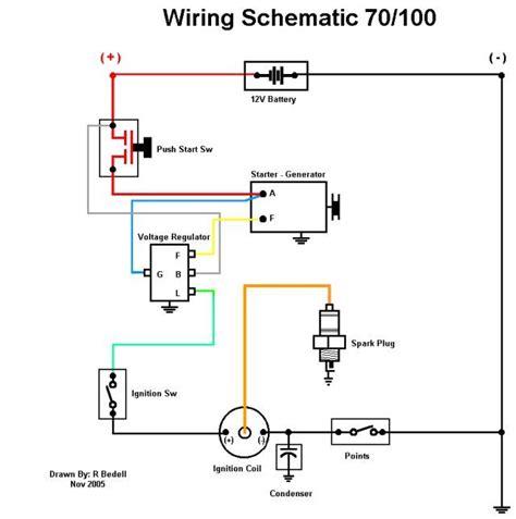lawn mower starter solenoid wiring diagram troy
