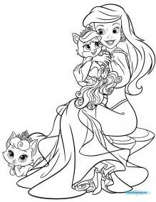 palace pets coloring pages getcoloringpages com