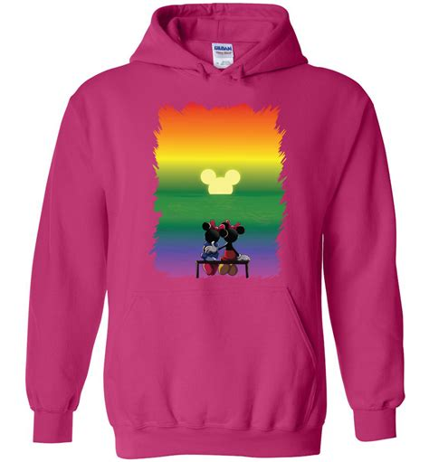 Hoodie Borg Navy February Merch stay together lgbt hoodie march for lgbtq