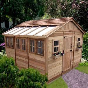 outdoor living today ssgs1212 12 ft x 12 ft cedar sunshed