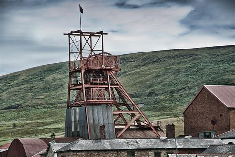Big Pit Big Pit Colliery Photograph By Steve Purnell