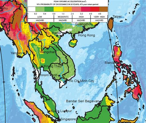 earthquake asia the greatest earthquake zones on earth history