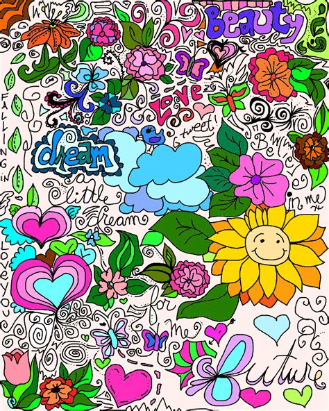 girly doodle wallpaper the gallery for gt cute girly tumblr doodles