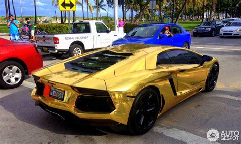 Lamborghini Or Toutes Les Couleurs De L Arc En Ciel La Lamborghini