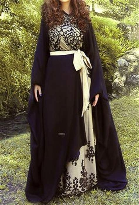 Fancy Brukat Top fancy lace abaya designs collection 2016 2017