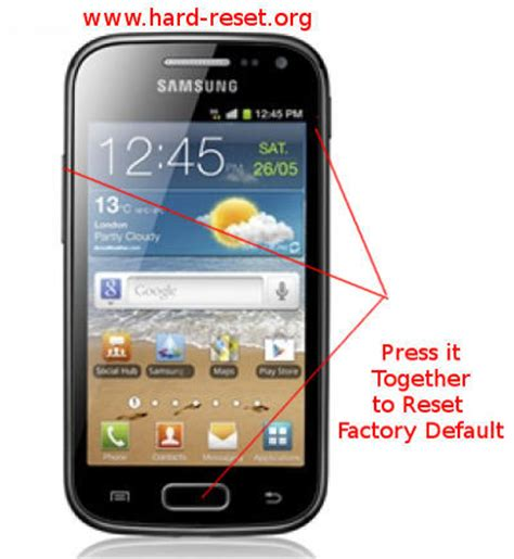 reset samsung factory settings code how to safety master reset samsung galaxy ace 2 i8160