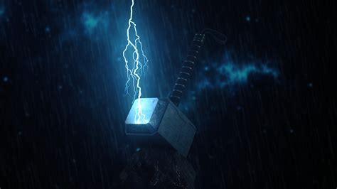Thor S Hammer Wallpaper
