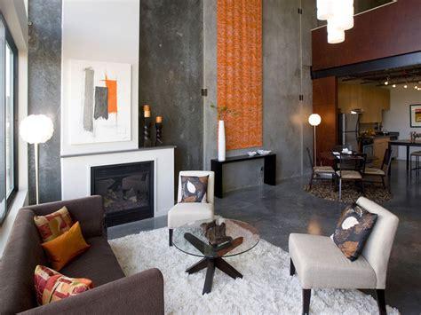 loft living rooms h45 loft industrial living room portland by