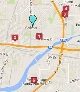map of colton california colton ca hotels motels see all discounts