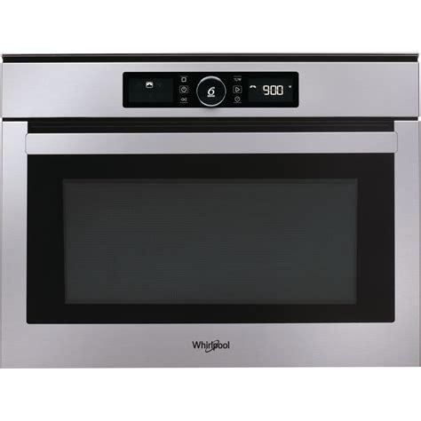 cucinare con il microonde whirlpool microonde da incasso whirlpool colore acciaio inox amw
