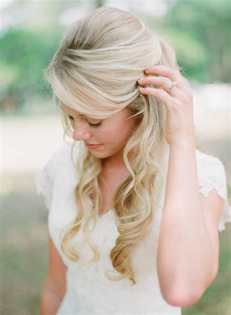 half up half down wedding hairstyles long hair 16 overwhelming half up half down wedding hairstyles