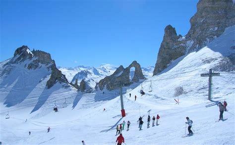 tignes ski resort skiing in tignes ski line