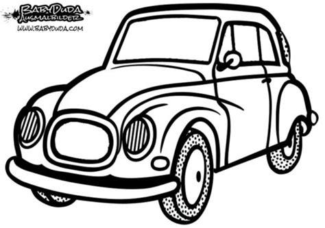 Ausmalbild Ente Auto ausmalbilder auto malvorlagen f 252 r kinder babyduda