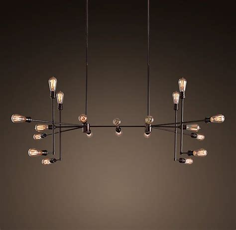 restoration hardware ceiling lights varick chandelier vintage bronze large restoration