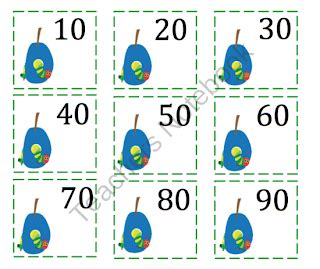 printable number cards to 40 counting with caterpillar preschool printables