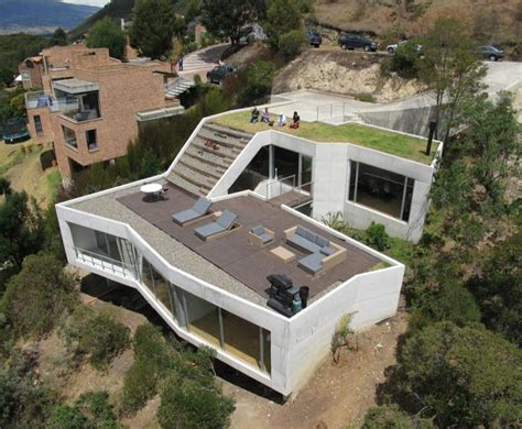 steep site house plans beautiful home on a steep hill with incredible view 14