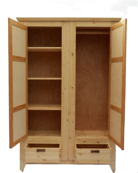 Wooden Cloth Cupboard Clothes Cabinet Finewoodworking