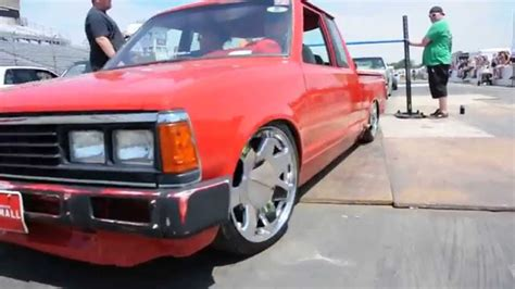 bagged nissan 720 air bagged nissan 720 slamology limbo youtube