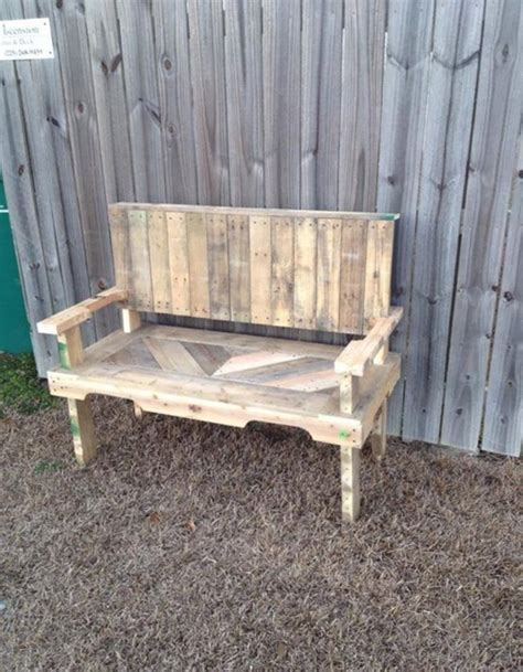 bench made from pallets pallets made garden chair bench pallet ideas recycled upcycled pallets furniture