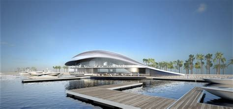 Philip Starck by Architecture Studio Lusail Yacht Club