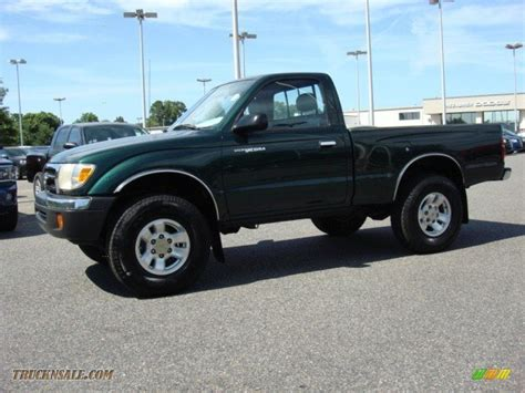 2000 Toyota Tacoma Regular Cab 2000 Toyota Tacoma Regular Cab 4x4 In Imperial Jade Green
