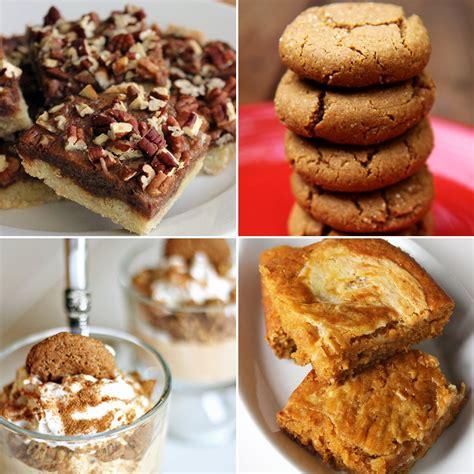desserts thanksgiving healthy thanksgiving dessert recipes popsugar fitness