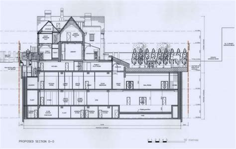 underground home plans david graham s 4 storey knightsbridge mansion almost