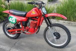 1980 Honda Cr250 Elsinore 1980 Honda Cr250 Ra Elsinore Vmx Rocket Aud 8 500 00