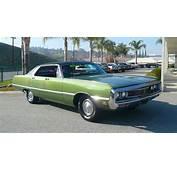1969 Chrysler Newport 4 Door Sedan