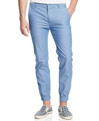 bright patterned joggers levi s chino joggers bright blue pants men macy s