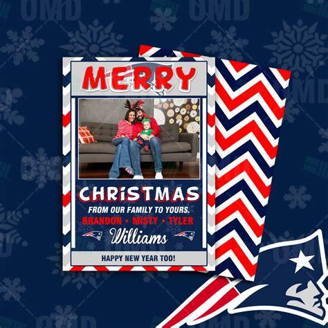 new patriots happy new year sports invites new patriots merry cards