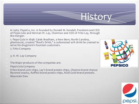 Pepsi Business Card