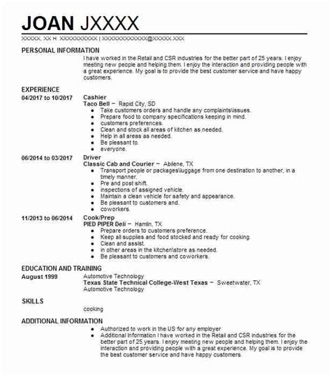 cover letter for cashier at sears cashier resume exle walmart byers colorado