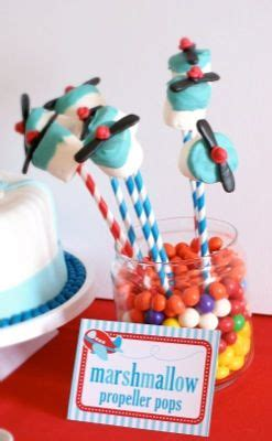 themes in marshmallow airplane party theme by vens paperie love the