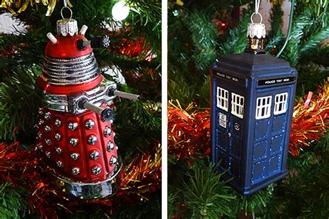 doctor who printable christmas decorations doctor who tree decorations a closer look merchandise