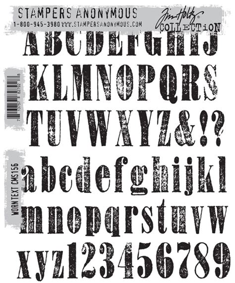 rubber st let font ster s anonymous tim holtz cling mounted rubber