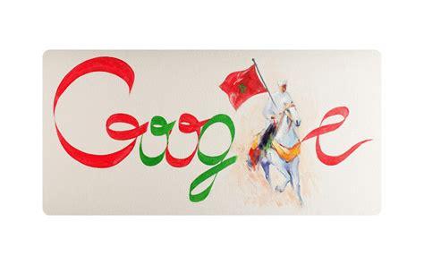 google viert onafhankelijkheid marokko
