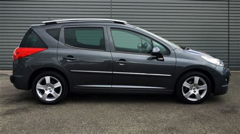 used peugeot estate used peugeot 207 sw estate 1 6 hdi 5dr 2012 ky12xrc