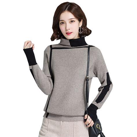 aliexpress ukraine ukraine spring autumn women high necked sweater 2018 new
