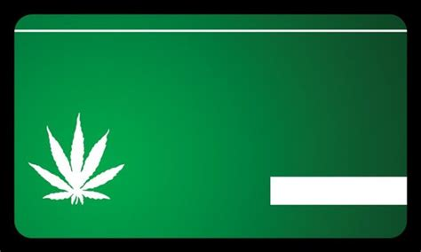 marijuana card template marijuana business card the