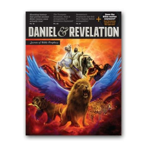 daniel and the revelation the response of history to the voice of prophecy a verse by verse study of these important books of the bible classic reprint books daniel and revelation secrets of prophecy amazing facts