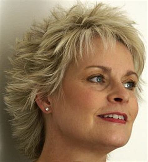 hair styles for older women with thin hair and widow s peaks short hairstyles for older women with fine hair