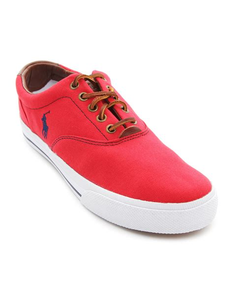 polo shoes for polo ralph vaughn canvas sneakers in for