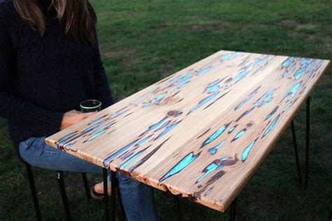 make your own glowing furniture diy glow in the