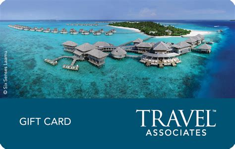 Vacation Gift Cards - 200 gift voucher for travel associates australia