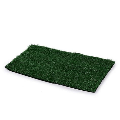 puppy grass pad puppy pet house potty pad mat tray grass toilet indoors zx ebay