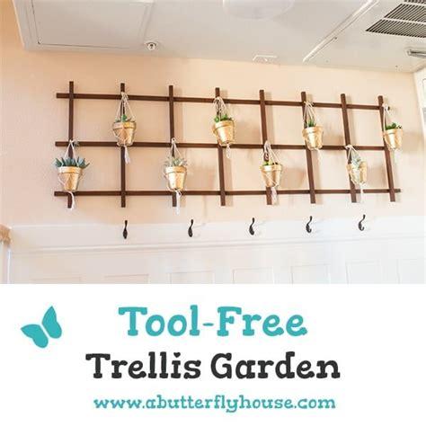 easy diy indoor trellis ideas  bring  greenery