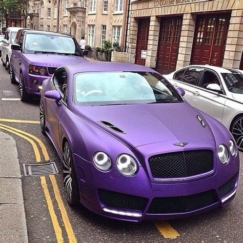 matte purple bentley cars we and on