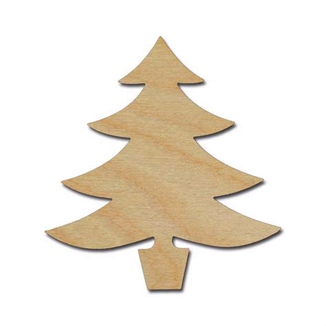 products christmas tree cutout artistic craft supply